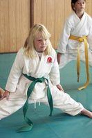 Lista de Karate Warm-Ups para Crianças