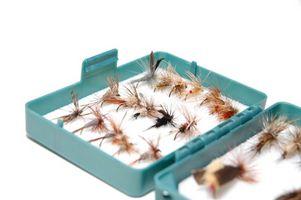 Instruções Preto Ant amarração da mosca