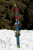 Como posicionar um Ski em um rack de carro Ski