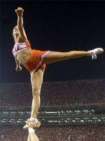 Como treinar para uma Aerobesque em Cheerleading