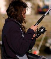 Como preparar uma vara de pesca