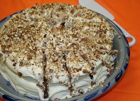 Como usar Meio Brown Farinha de Arroz para bolo de cenoura