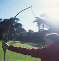 Como Apontar um Longbow para iniciantes