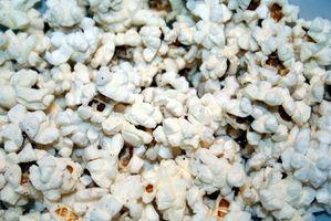 Como Pop Corn Kernels no microondas