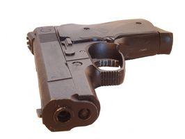 Colt 1911A1 Deslize Identificação