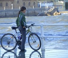 Como ajustar uma das mulheres de bicicleta Guidão