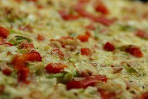 O que é o Processo de Produção de Pizza?