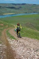 Como ajustar da suspensão dianteira com um gigante de Mountain Bike