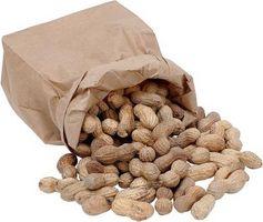 Fazendo Tasty Raw Peanuts nos snacks