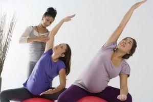 Profundos Yoga Alongamentos e Gravidez parte interna da coxa