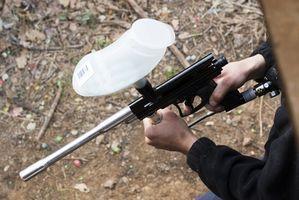 Como solucionar problemas de um PCS Paintball Gun que está perdendo o ar