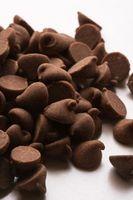 Como derreter o chocolate no papel de cera Sem ele Furando
