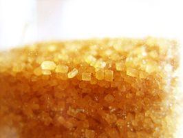 Como converter cana para açúcar branco