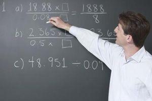 Como ensinar crianças Decimals