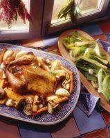 Como assar um frango inteiro em um NuWave Forno