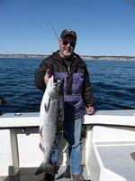 Técnica para o Alaska Salmon Fishing