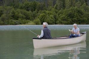 Como equipar uma canoa para Fly Fishing