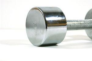 Como construir músculo com a 10 Lb.  Dumbbell