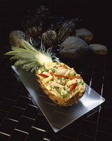 Como fazer uma bandeja de frutas com um abacaxi Boat