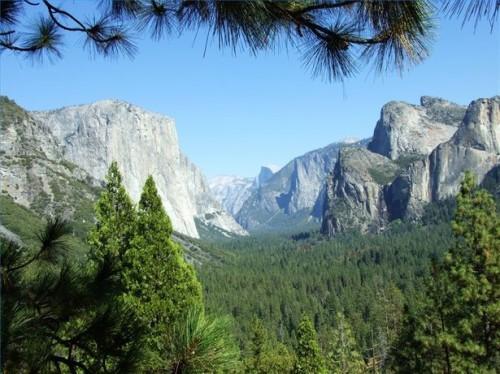 Como Yosemite Park foi Formado