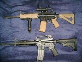 Como Bore vista uma AR-15