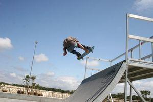 Como fazer truques de skate em Pipes Trimestre