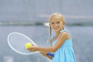 Jogos de Tênis para crianças durante a prática