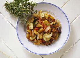 Idéias refeição com Ratatouille