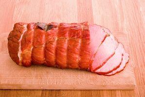 Como salmoura um Ham fresca