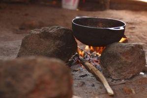 Como cozinhar Home Fries em uma Cast Iron Pot