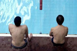 Bons exercícios fora da água para natação Nadadores