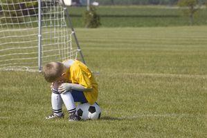 Futebol de treinamento para crianças