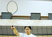 Como acertar o bloco filmado em Badminton