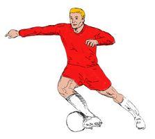 Como obter o corpo perfeito Futebolista