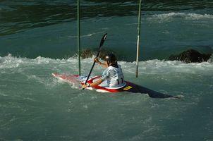 Como treinar para o Slalom Caiaque