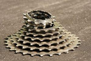 Como alterar Cassetes de bicicleta