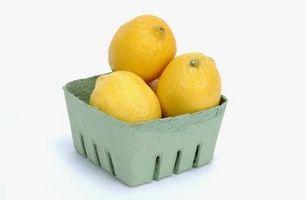 Como congelar pelados Limões