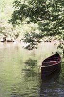 Como substituir Gunnels de madeira em uma canoa