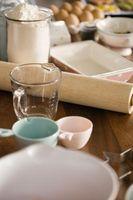 Como converter medidas secas para Onças de cozinha em copos