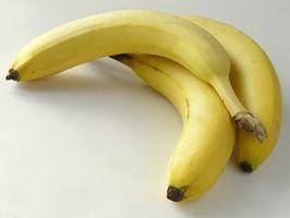 Como Descongele Bananas congeladas para Banana Bolo