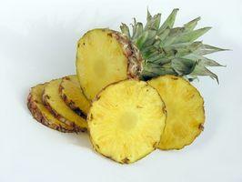 Como fazer conservas de ananás