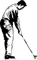 O que é um balanço Perpendicular Golf?