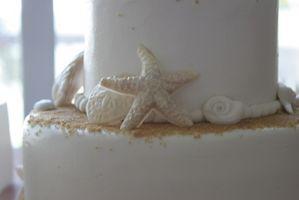 Dicas sobre decorar um bolo do tema da praia
