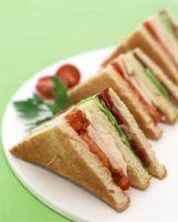 Almoço Idéias Sandwich