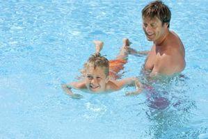 A abordagem suave para ensinar as crianças a nadar