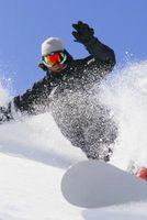 Como Esculpir o Backside em um Snowboard