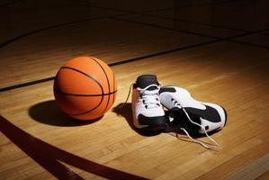 Como melhorar a tração de tênis de basquete