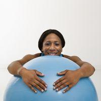 Como escolher o tamanho correto Exercise Ball 1
