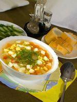 Como faço para Desweeten uma sopa?