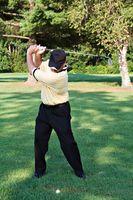 Como treinar para bater bolas de golfe Extremo